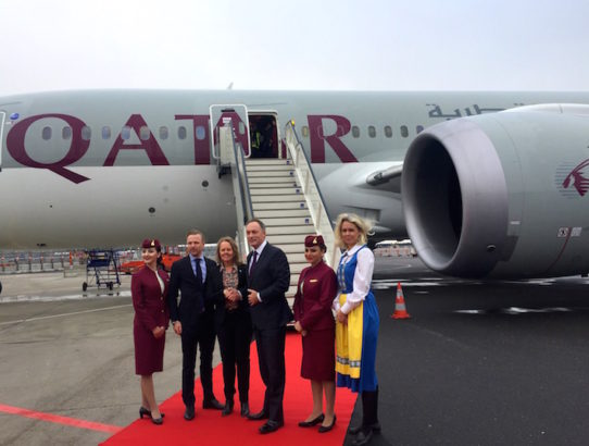 Flying Qatar Airways' Business Class